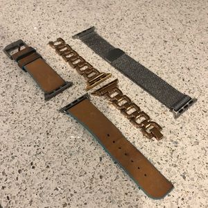 Accessories - 3 Apple Watch bands. Fits series 1-3.